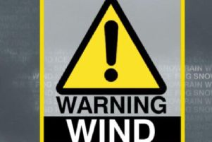 The warning was issued on Friday.
