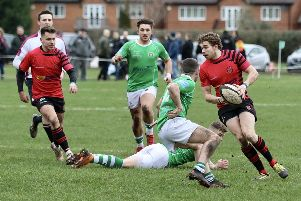 Sam Powell in action for Newbold against Sutton Coldfield    Pictures by Steve Smith