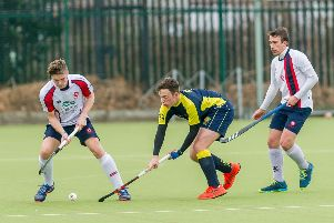 The Men's 1st XI playing Sutton Coldfield earlier this month
