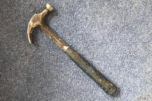 A file photo of a claw hammer