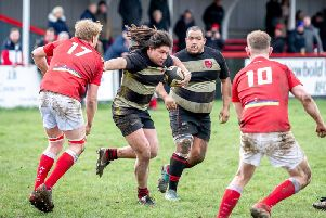 KJ Henry and Ben Nuttall in Newbold's win over Whitchurch