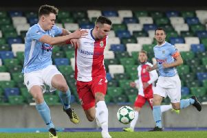 Linfield versus Ballymena United