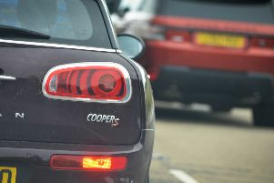 There is said to be queueing traffic in Polegate this afternoon after an earlier collision at the Cophall Roundabout