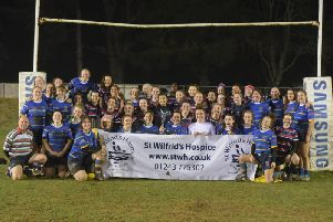Worthing Warriors and Sussex University came together in aid of charity