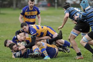 Gosport & Fareham lost to Old Alleynians. Picture: Ian Hargreaves (020319-1)