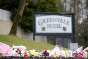 The scene at Greenvale Hotel in Cookstown, Co. Tyrone, where three young people died on Sunday night.  ''Picture by Jonathan Porter/PressEye