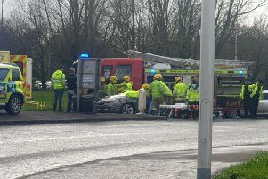 The accident occurred near Lurgan