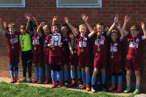 Hillmorton Under 10s Colts won their cup final 4-3 on penalties, after being level with Norton Lindsey 1-1 at full time