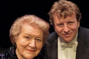 Dame Patricia Routledge and Piers Lane