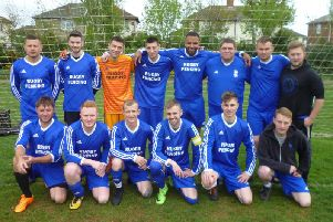 Caldecott Arms beat The Lion 5-2 in the Play-off Final to win a place in Division 1 next season