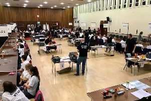 The election count on Thursday night