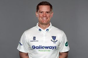 Sussex captain Ben Brown / Picture by Getty Images