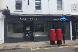 Parkinsons in Regent Street, Leamington, has now closed.