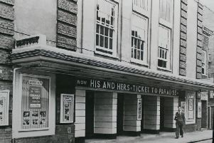 How the Century Cinema in Bank Street looked in 1961
