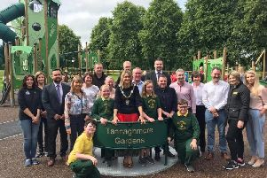 Opening of Tannaghmore Gardens