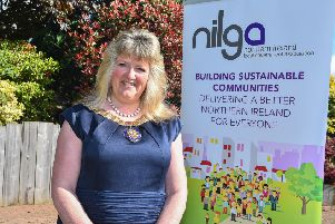 Councillor Frances Burton, the new President of the Northern Ireland Local Government Association