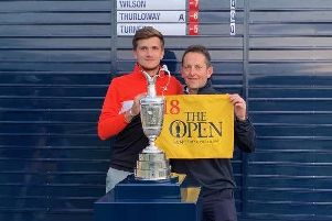Ashton Turner has qualified for The Open