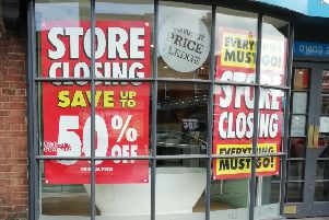 The Horsham branch announced it was to close earlier this month