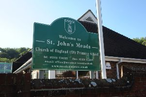 St John's Meads School in Eastbourne (Pic by Jon Rigby) SUS-150929-092232008