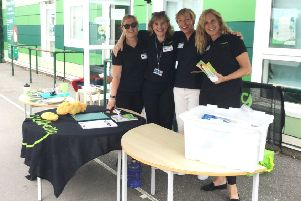 The Arun Wellbeing team received a warm welcome at White Meadows Primary Academy