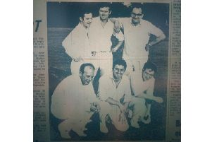 AEI's six-a-side team, who were playing in the Advertiser league in 1969