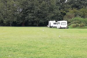 All but three caravans had left the park by Friday morning (August, 16) SUS-190816-142953001