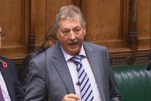 DUP Brexit spokesperson Sammy Wilson MP rejected that the party was moving towards accepting a type of Backstop.