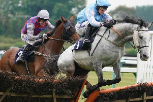 Over the jumps they go at Fontwell / Picture: Getty Images