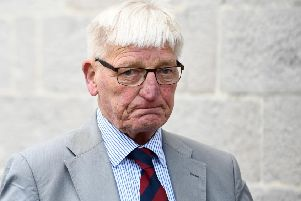 Former soldier Dennis Hutchings is charged with the attempted murder of John-Pat Cunningham, who was shot dead by members of an Army patrol in Benburb on 15 June 1974.' Photo: C Lenaghan/Pacemaker