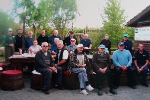 Anglers at the Brian Smith Memorial Match at Old Oak Farm Fishery