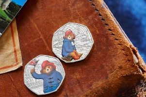 Paddington Bear is getting his own 50p coin Picture: The Royal Mint
