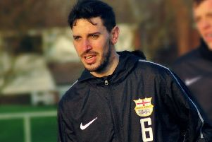 Jordan Lever made it three goals for Melton in his first 11 appearances for the club EMN-190114-085342002