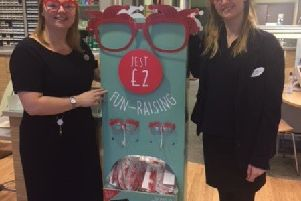 Hastings Specsavers who will be supporting Comic Relief SUS-190213-101352001