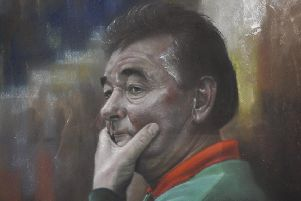 Brian Clough by Stephen Doig
