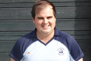 Jon Meredith was South Saxons' man of the match in the 3-3 draw away to Hailsham