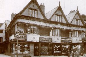 The Vivers building in 1913 incorporated Neale and Perkins Ironmongers NNL-190313-161242001