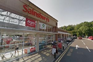 The attack took place outside the Sainsbury's superstore in Hastings. Picture: Google Streetview