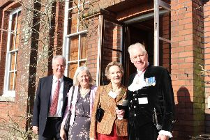 Michael and Sue Ensor, and Anne and John Moore-Bick