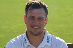 Harry Finch has switched club sides from Hastings Priory to Mayfield for the 2019 season. Picture courtesy PW Sporting Photography