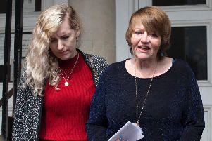 Amy's mum Tania El-Keria (right) said today was a 'historic day'