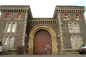 The assault happened inside Lewes Prison