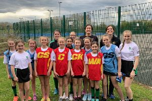 Players put themselves to the test for Southam College's 24 hour netball challenge