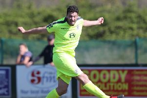 Gary Elphick will be staying at Hastings United Football Club for next season. Picture courtesy Scott White