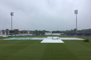 No play was possible on day three at Durham
