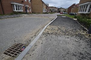 Residents are angry the estate roads have not been completed