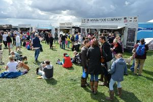 Busy scenes at 2018's County Show. PICTURE: ANDREW CARPENTER