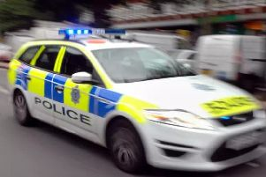 Firearms officers were called to the scene