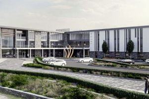 An artist's impression of the hotel