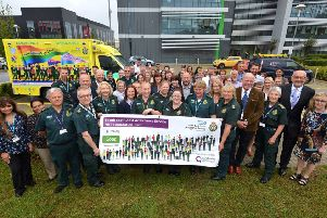SECAmb staff celebrate a 'good' rating from the Care Quality Commission