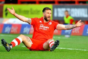 Ollie Palmer's double won it for Crawley at Orient